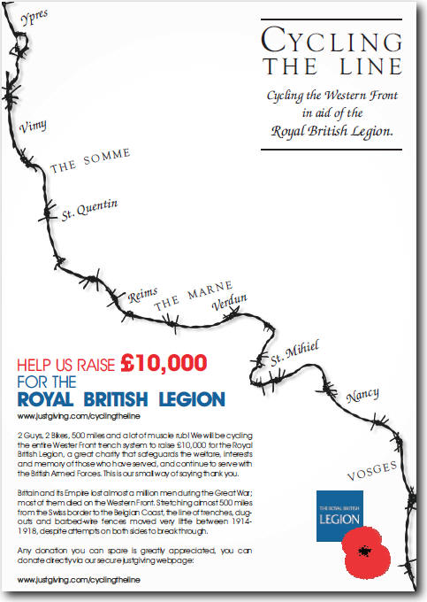 www.justgiving.com/cyclingtheline