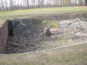Ruins of the gas chamber: Crematorium II