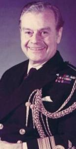 Vice-Admiral Sir R W Halliday KBE DSC